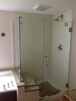 All Glass Shower Enclosure