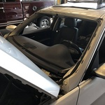 2006 BMW 330 gets a new windshield
