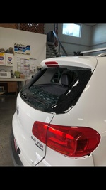 Volkswagen Tiguan Back Glass